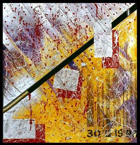 Psicotrom op I | mista | 76 x 73 cm | 1998 | Vendido